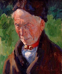 Portret man, Freek Schokker.